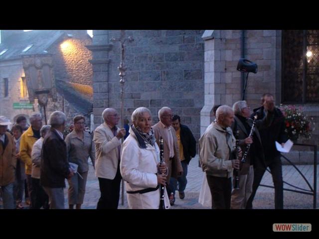 La procession au Miniou vers le tantad