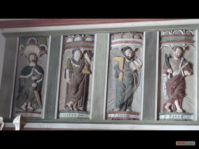 Eglise de Trégornan les apôtres