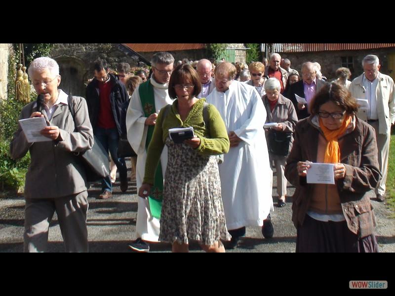 Pardon de Trégornan la procession 2