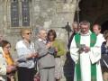 Pardon de Trégornan fin de la procession le magnificat