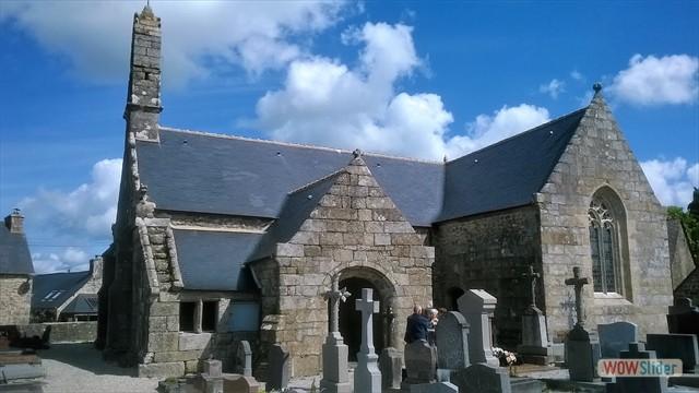 L'église de Trémargat