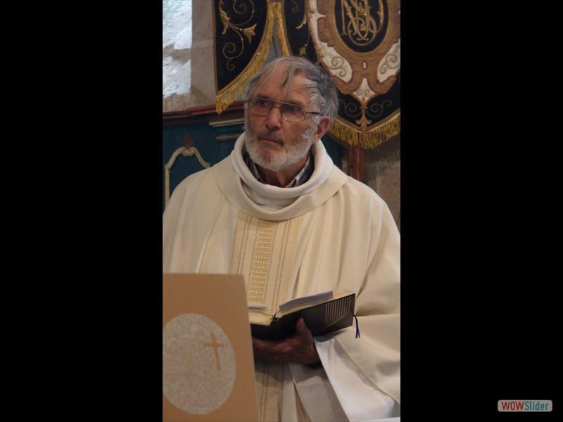 Pardon de Sélédin Le père Peter Webb