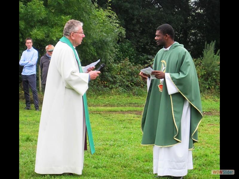 Le Père Job et le Père Jean-Bernard