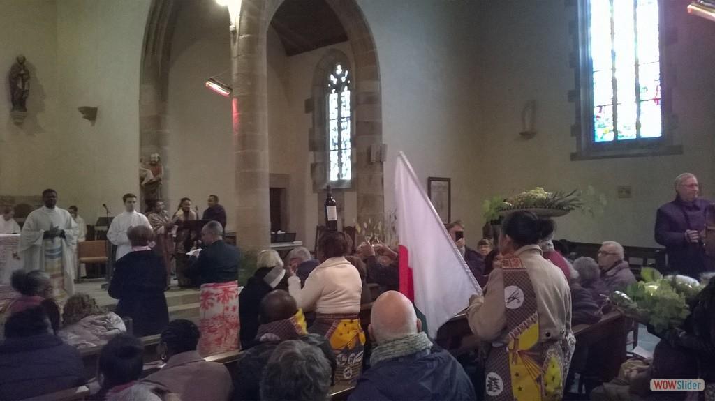 La procession des offrandes